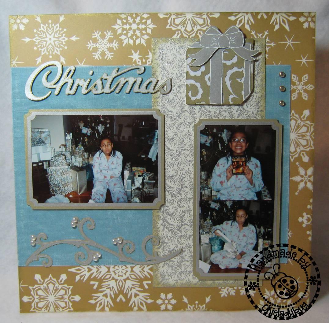 A Very Merry Borik�n Christmas: Okieladybug's Scrap N' More: Very Merry Christmas Layout