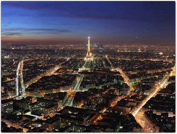 Paris France, Paris Night Light