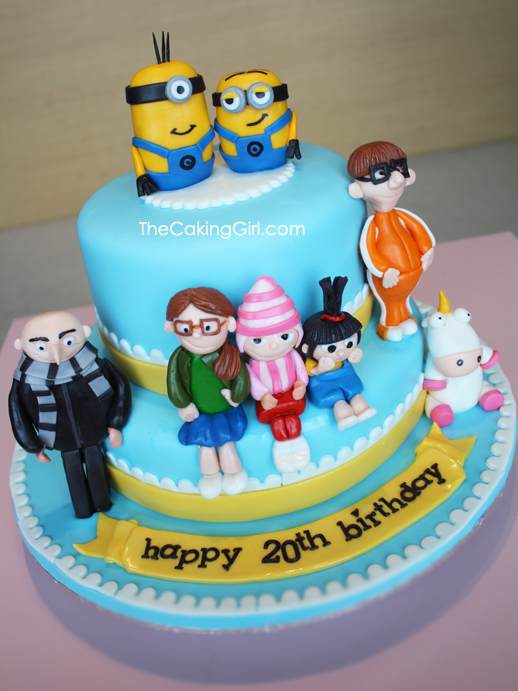 We were looking for additional decorations for our daughter's Despicable Me minion themed birthday party when I ran across these cake decorations. It's a cute set and while yes two of the minion pieces are flat, they still add to the cake/5().