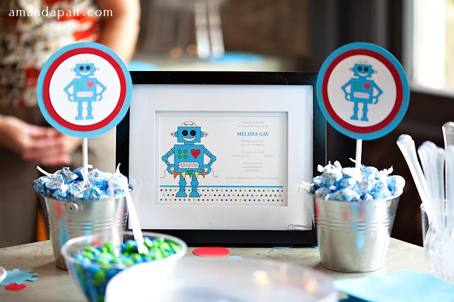 baby shower robot life baby baby showers parties nurseries