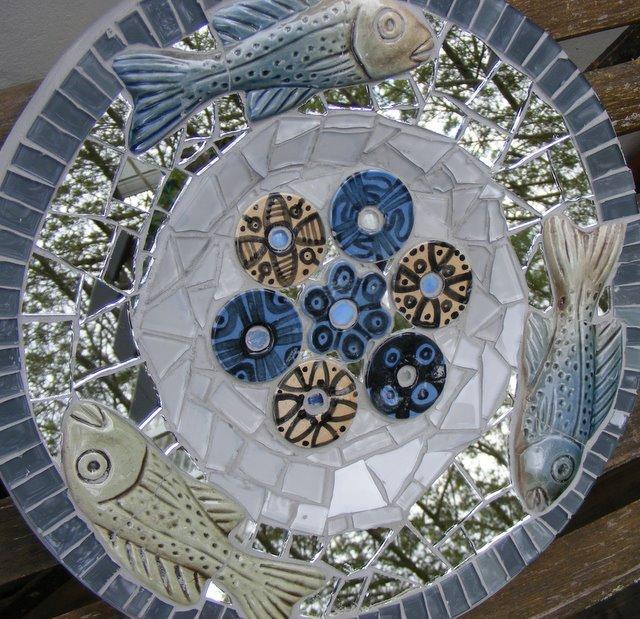 Fish Mosaic Platter 2
