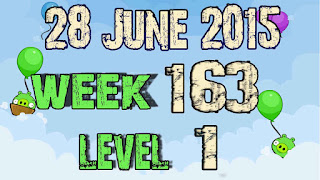 Angry Birds Friends Tournament level 1 Week 163