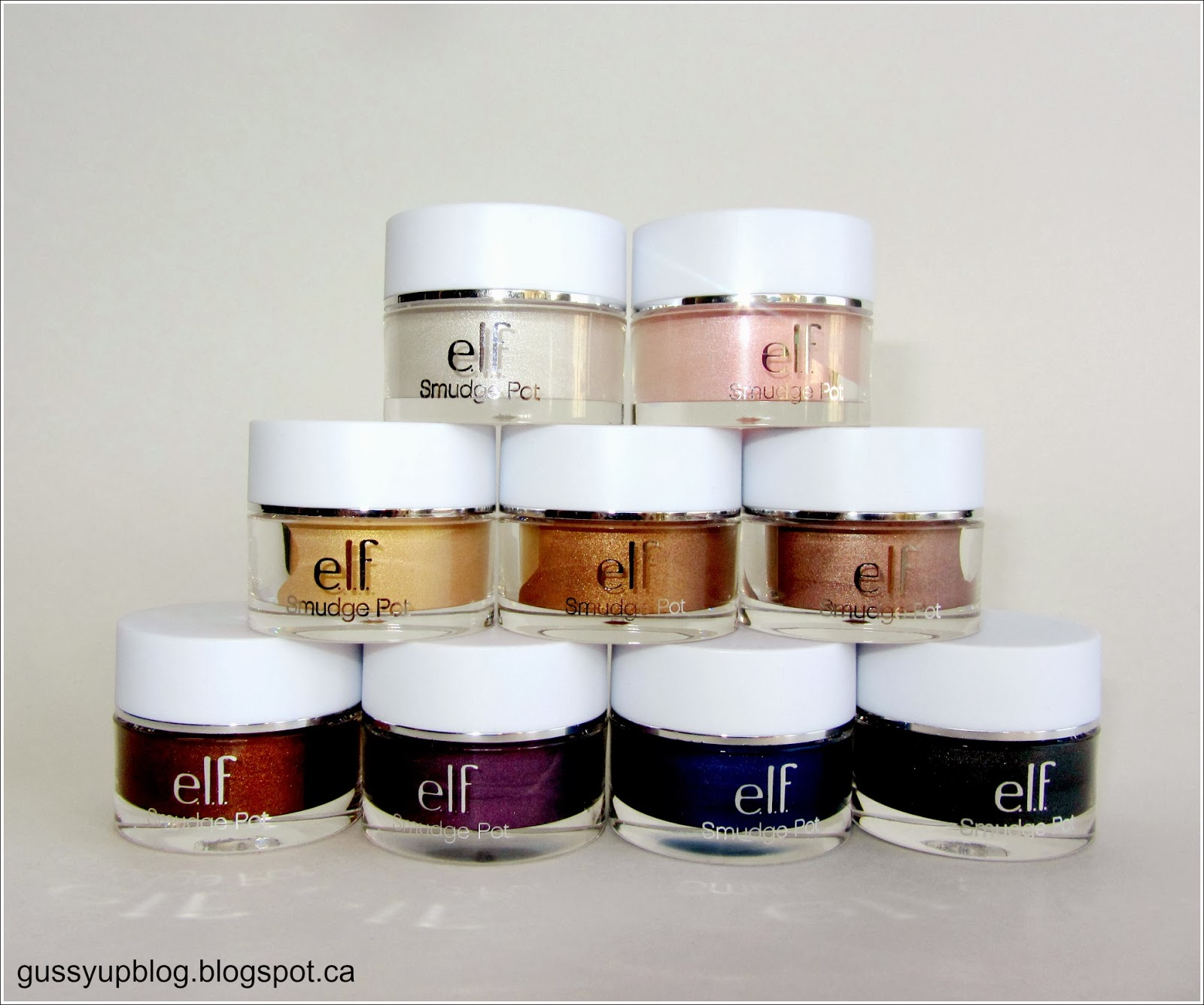 e.l.f. Essential Smudge Pots, Review and Swatches
