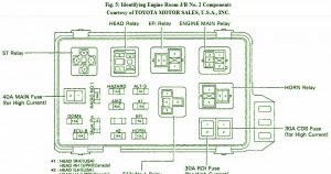 Fuse    Box       Toyota    1997 Camry CE    Diagram      Circuit    Schematic    learn