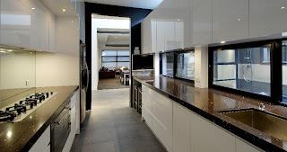 cucina moderna villa