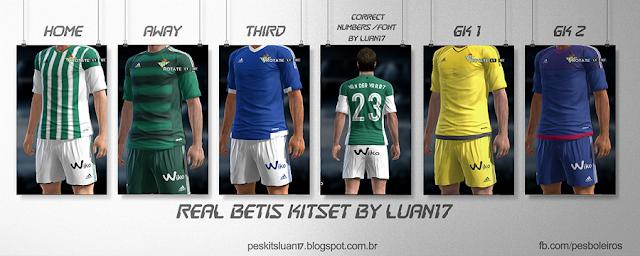 PES 2013 Real Betis Kitset 2015-16 by Luan17