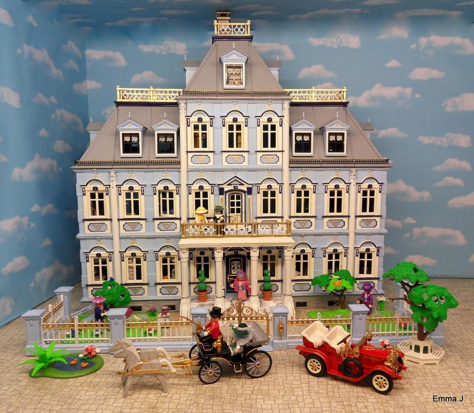 Blue Mansion Finished Emma J 39 S Playmobil