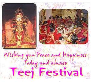Teej festival india