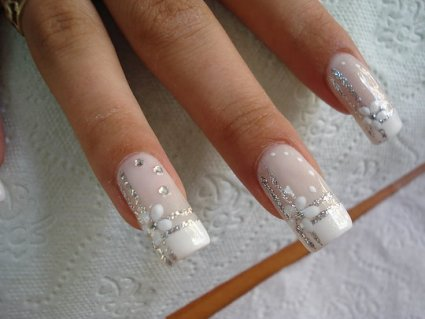 nail art design for brides  have your dream wedding