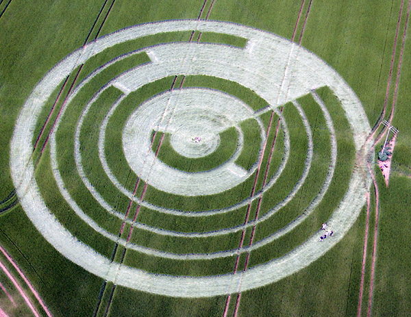 Círculos cosechas - crop circles  - Página 5 Mantondrove2012c
