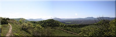 Panorámica desde la cima-2011