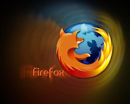 logo firefox, wallpaper firefox