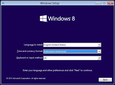 Instal Windows 8.1 Permanently Activated dengan Product Key