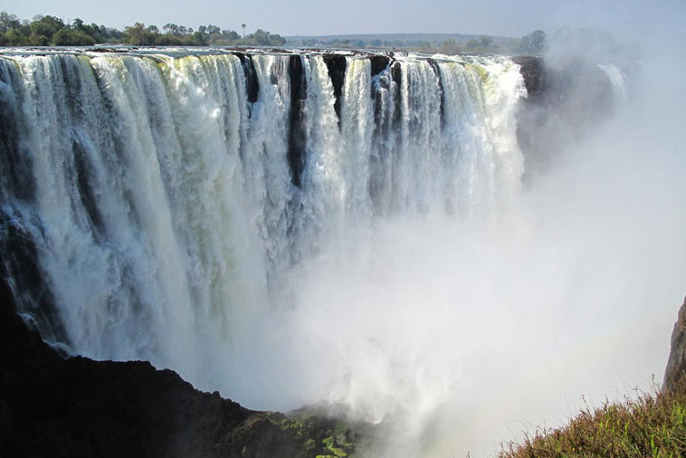 Victoria Falls The Largest Waterfall In The World