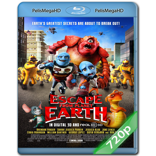 Escape From Planet Earth (2013) 720P HD MKV DUAL ESPAÑOL LATINO 5.1