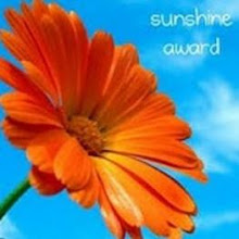 Sunshine Award...:)