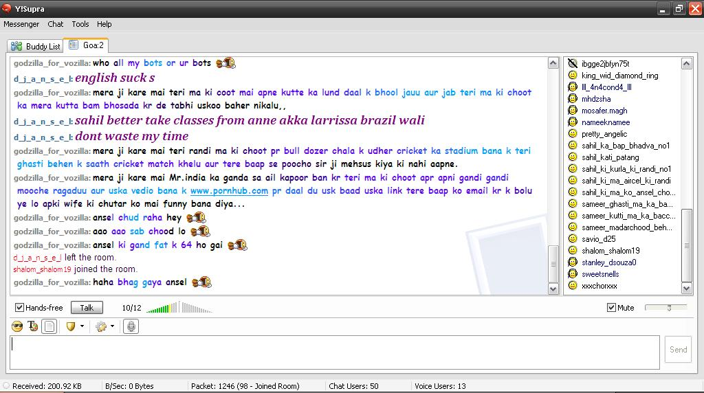 match herreklær yahoo chat rooms