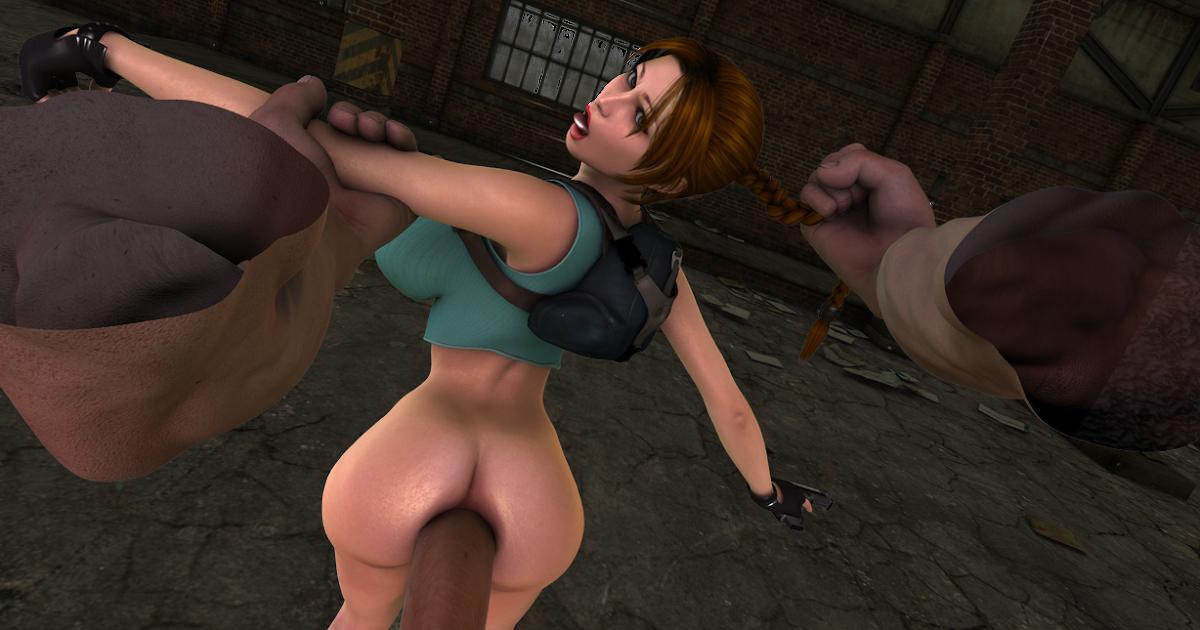 Lara Croft Anal 14