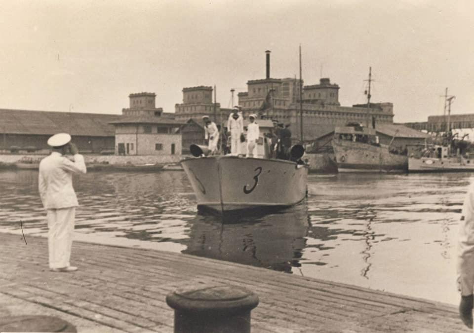 Vedeta torpiloare Vijelia in portul Constanta