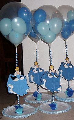download image   fiestas infantiles decoraci n cenicienta centros de