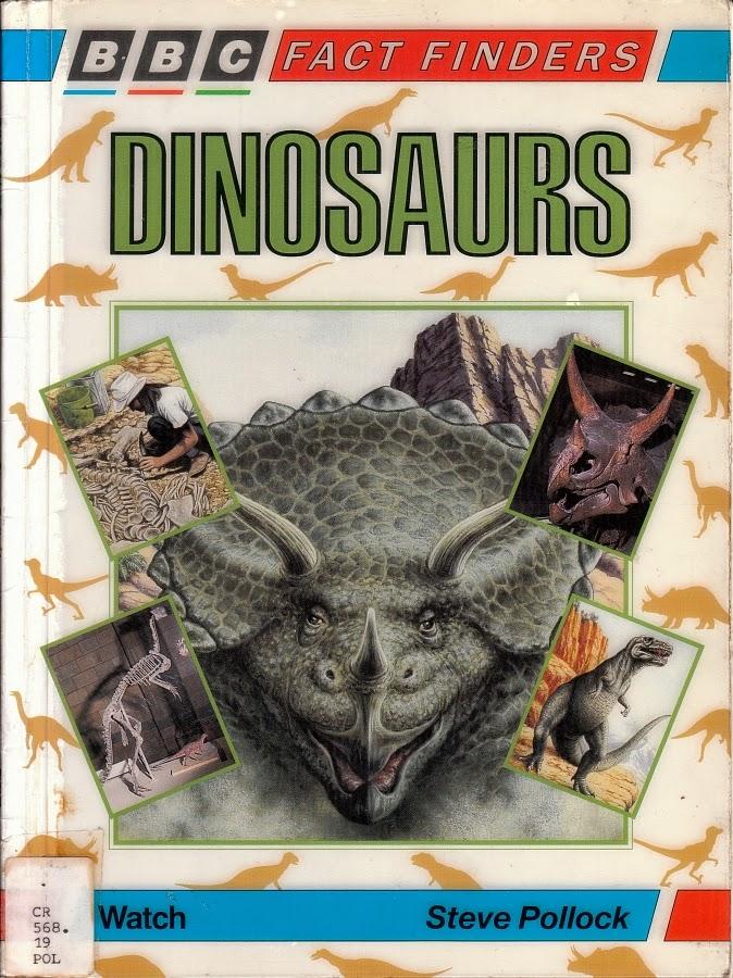 Vintage Dinosaur Art: Dinosaurs (BBC Fact Finders)