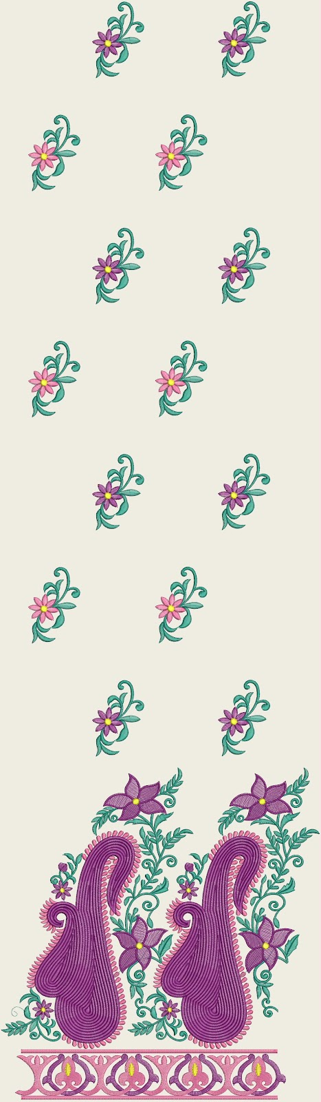 Embdesigntube designer punjabi suits embroidery designs