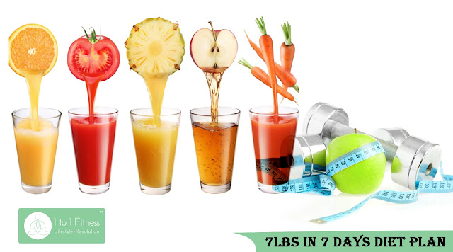 7Lbs In 7 Days Diet Plan