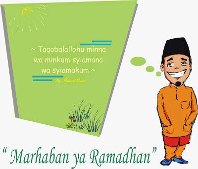 gambar kartu kata ucapan ramadhan