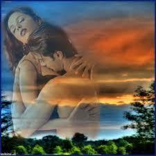 imagen de dos amantes