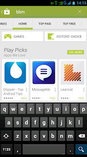 Cara download BBM Android - langkah 3