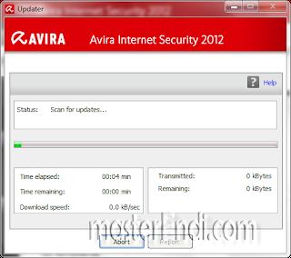 Cara update antivirus Avira 2012