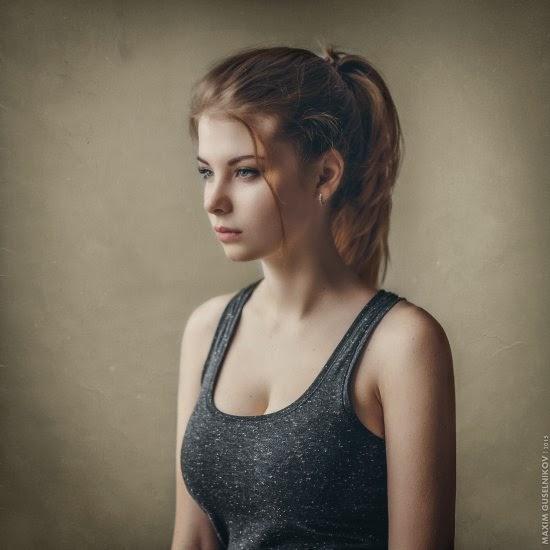 Maxim Guselnikov fotografia mulheres sensuais modelo russa Irina Popova