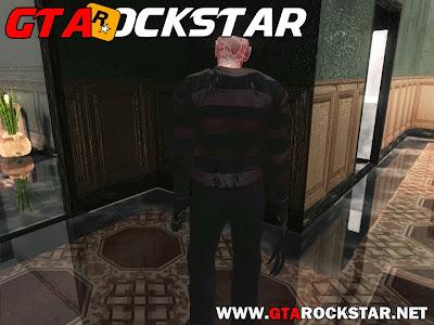 GTA SA - Skin Freddy Krueger