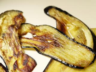 Aubergines frites (voir la recette)
