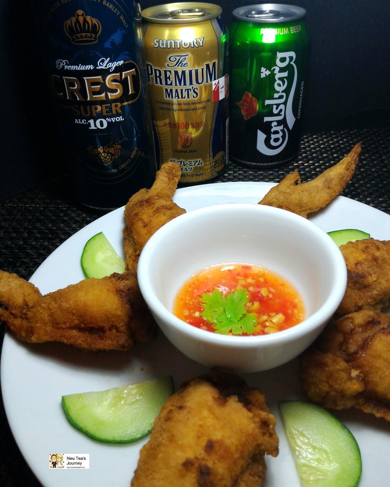 Thai Stuffed Chicken Wings/Peek Kai Yad Sai 泰式酿鸡翼 at Private Dining
