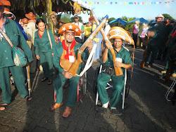 Bacamarteiros cadeirantes de São José do Belmonte