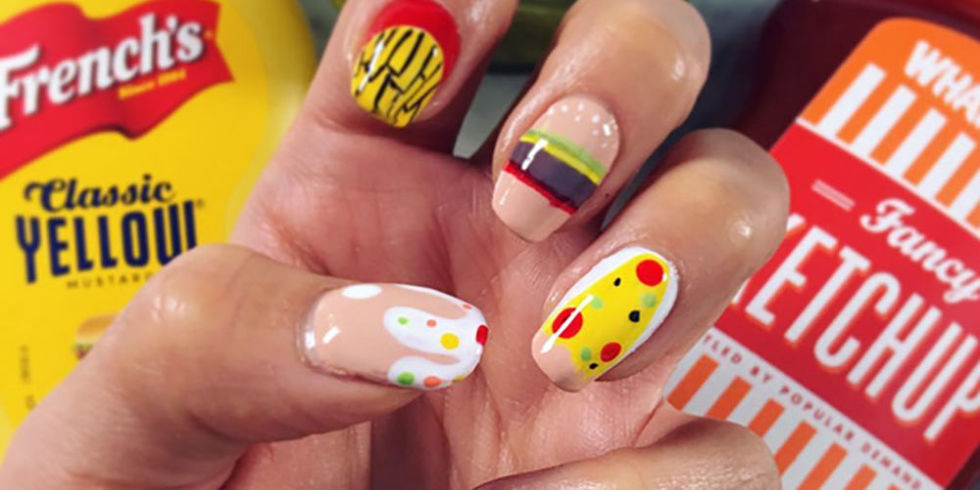 The Coolest Nail Art Ever Fashion Is Mirror