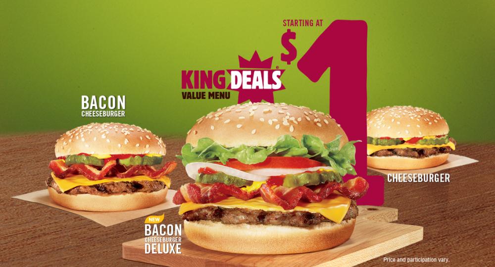 Burger King Deals 2014 News Burger King King Deals
