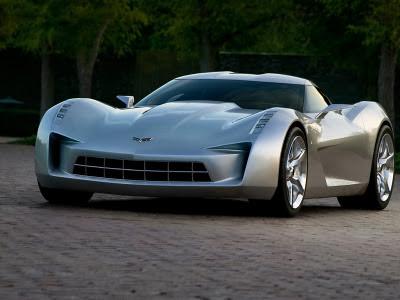 Corvette Stingray Sideswipe