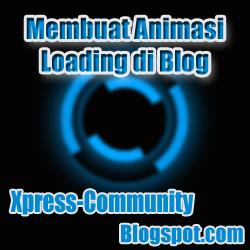 Membuat Animasi Loading di Blog