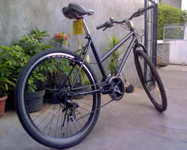 Modifikasi Sepeda Hitam Desain Modifikasi Sepeda