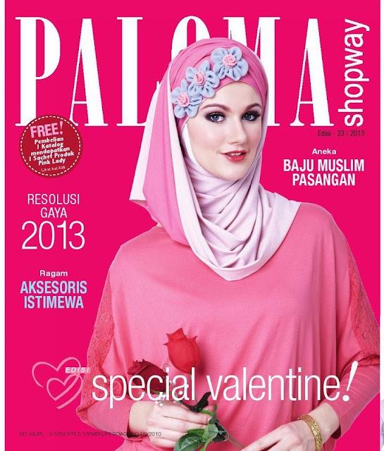 Gambar Baju Busana Muslim: Katalog Paloma Shopway Edisi 23/2013