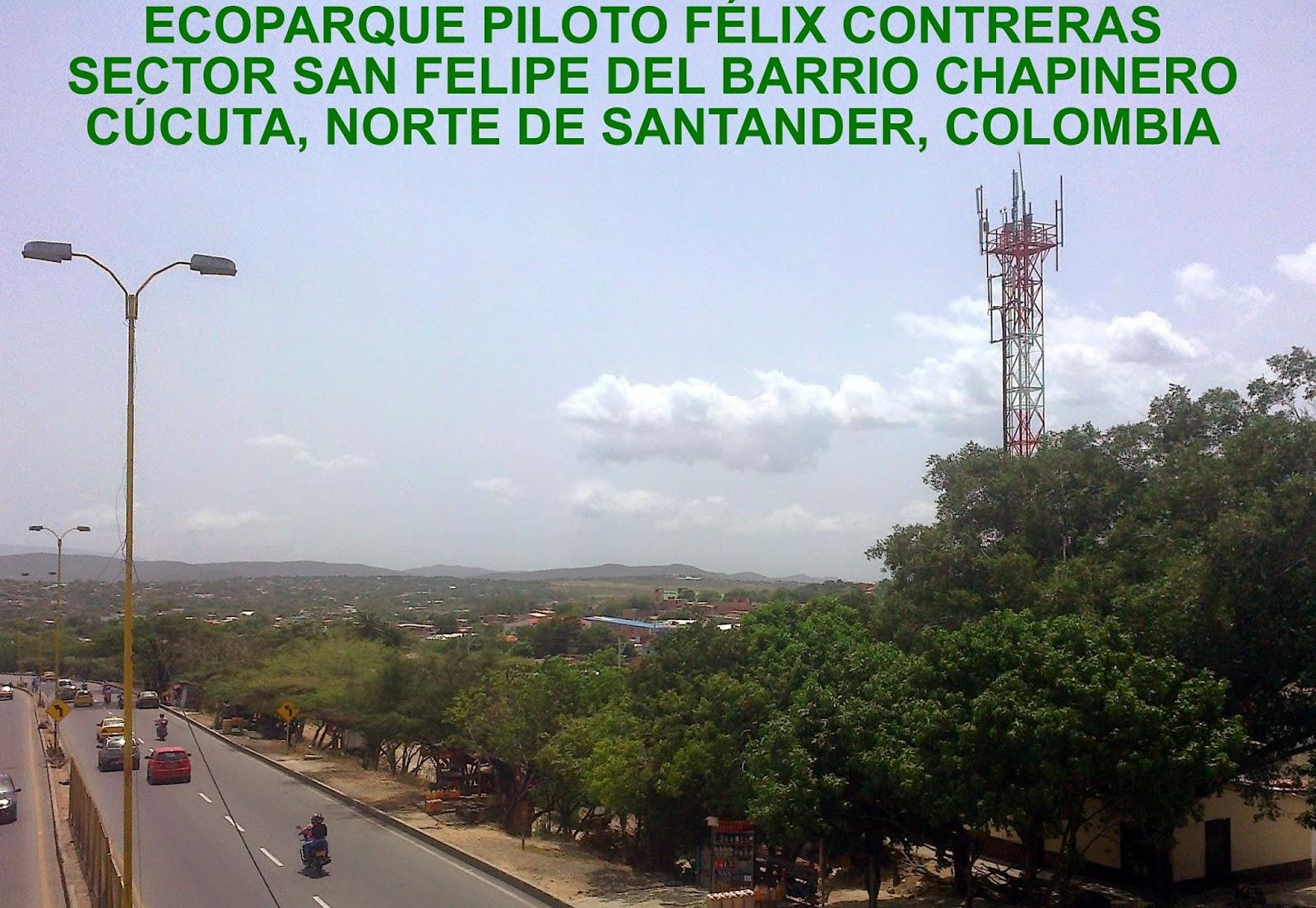 Proyecto Ecoparque piloto Félix Contreras en Chapinero de Cúcuta-Colombia Bienvenidos!