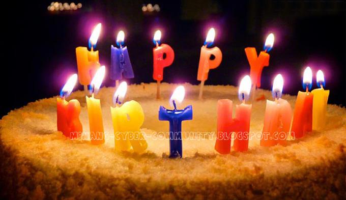Gambar Animasi DP BBM Selamat Ulang Tahun Happy Birhtday ...