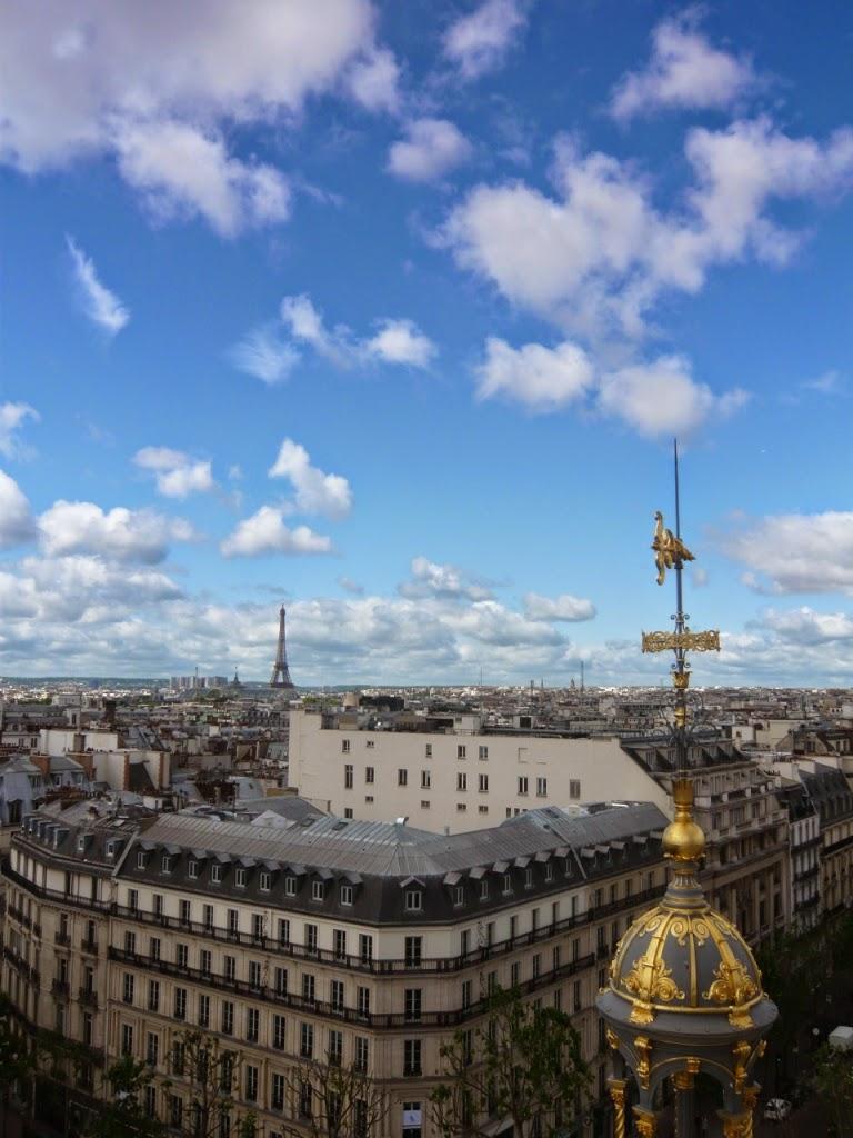 Vue panoramique de Paris - Printemps Haussmann
