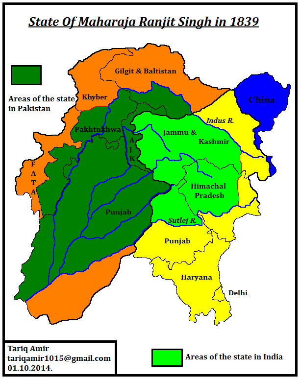 Pakistan Geotagging Partition Of Punjab in 1947