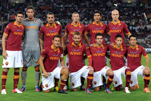 AS Roma players will go on the field with the jersey chosen by their fans