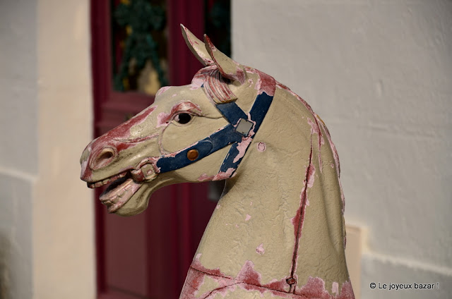 Honfleur - cheval de bois