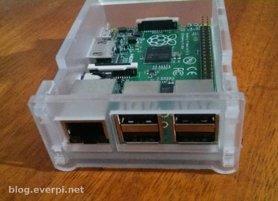 Case para Raspberry Pi B+
