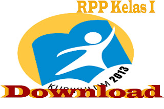 Download RPP Kurikulum 2013 Kelas I SD